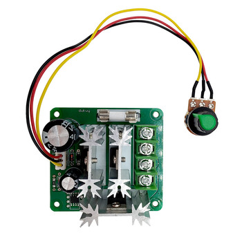DC Motor Speed Controller Motor Speed Controller 6v-90v Switch Stepless Speed Regulation Current Regulator image