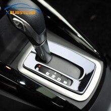 Xburstcar مقبض ناقل الحركة ABS ، ملحقات السيارة ، إطار اللوحة المحيطية ، ملصق لفورد Ecosport 2018 2019 2020 ، جودة عالية