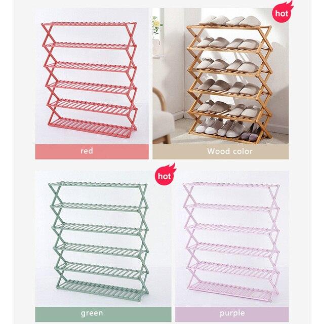 Folding Shoe Rack 6
