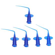 5 szt Medycyna wtryskowa końcówka do napełniania jednorazowa końcówka do nawadniania tanie tanio NONE CN (pochodzenie) Disposable Needle Tips Injection Root Tips Dentist Injection Root Tips Syringe Injection Root Tips