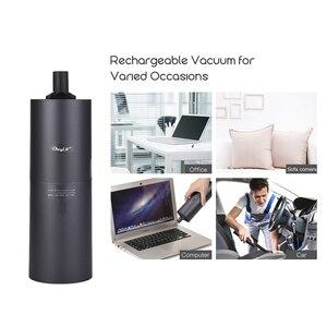 Image 3 - Беспроводной ручной автомобильный мини пылесос, портативный беспроводной пылесос двойного назначения, USB Аккумуляторный пылесос для автомобиля и дома 45