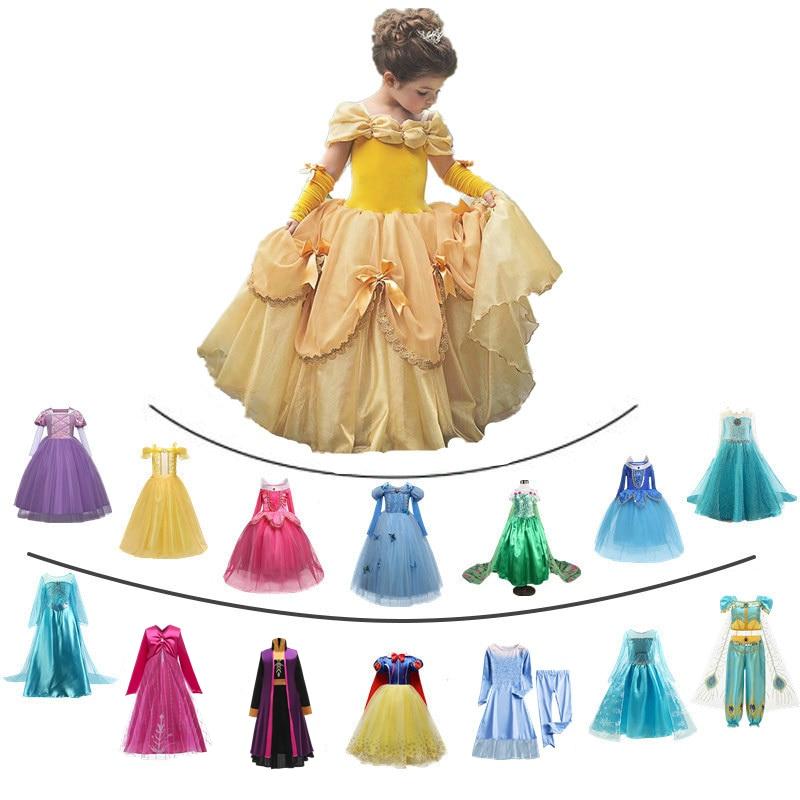 Dress for Girls Moana Cosplay Costume sundress Sleeveless Princess Halloween