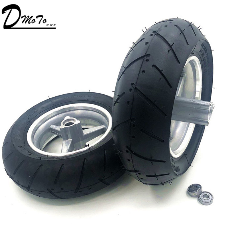 <font><b>90</b></font> / 65-6.5 and <font><b>110</b></font>/50-6.5 Front and Rear wheels tire tubeless vacuum For 49cc Mini Dirt Bike e Scooter Mini Moto image