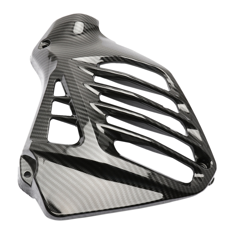 Radiator Panel Cover With Carbon Fiber Grain Fit For Yamaha N-MAX NMAX (K14)