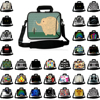 Portátil Messneger maletín de neopreno 10 12 13 14 15 17 15,6 13,3 portátil de 11,6 pulgadas Chromebook bolsa caso para Macbook Acer HP