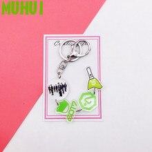 2019 Kpop GOT7 Album String Key Chain Personalized Key Ring Pendant Keyring Women Bag Keychain 19336 недорго, оригинальная цена