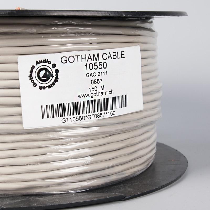 1m 3.5mm headphone plug to 2RCA analog audio hifi signal cable Gotham