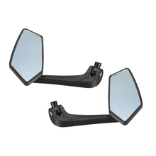 2pcs Motorcycle Rearview Mirrors Kit Accessories For ATV Quad Moped Scooter Electric Mirror