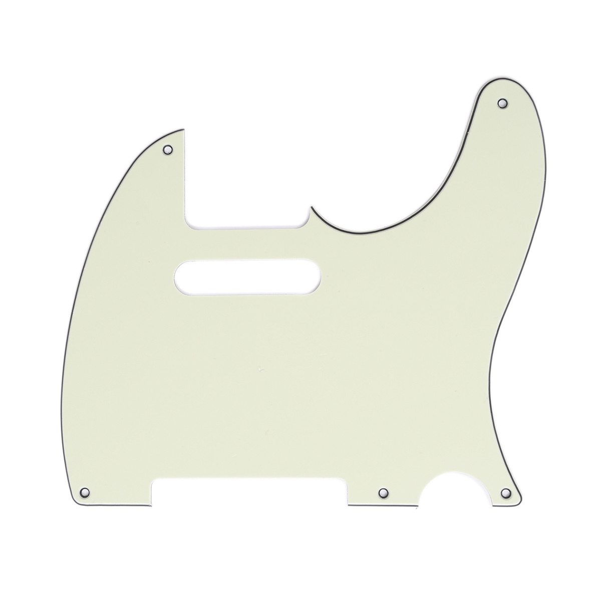 Musiclily 5 Hole Vintage Tele Pick Guards Guitar Scratch Plate for Fender American//Mexican Made Standard Telecaster Style Electric Guitar 4Ply Tortoise Shell