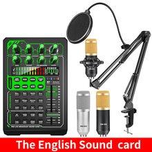Микрофон bm 800 комплект звуковой карты e1 аудио интерфейс караоке
