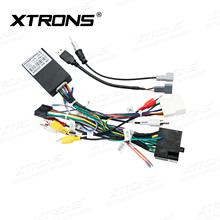 XTRONS AK PF7135HS PWR ISO kable w wiązce dla Hyundai IX35 XTRONS jednostki tanie tanio Kable diagnostyczne samochodu i złącza