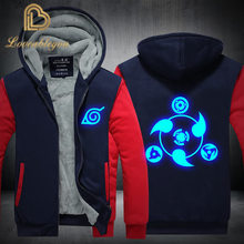 Tracksuit Men Sporting Fleece Thick Hooded Winter Jacket Men Streetwea