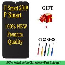 100% nouveau AAA Qualité D'AFFICHAGE À CRISTAUX LIQUIDES Pour Huawei P Smart 2019 D'écran Tactile d'affichage POT-LX1 L21 LX3 Affichage Pour P smart 2018 2019 Écran LCD