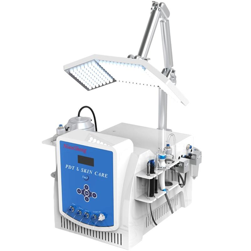 8 In1 Hydra Diamond Dermabrasion Vacuum Blackhead Removal Skin Rejuvenation Oxygen Care Jet Peel Deeply Clean PDT Beauty Machine