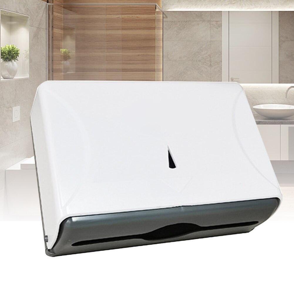 Restaurant Hand Paper Dispenser Towel Bracket Waterproof Modern Tissue Holder Kitchen ABS Office Bathroom Wall Mounted Hotel