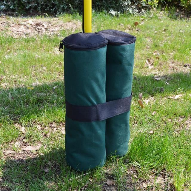 Oxford Outdoor Camping Tent Canopy Sand Bag Weights SandBag Umbrella Shelter Fixing Stand Feets Tents Leggings