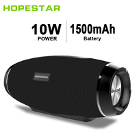 HOPESTAR H27 Wireless Bluetooth Speaker 3D Stereo Soundbar Column Boombox Waterproof Outdoor Subwoofer FM Radio PK Charge XTREME