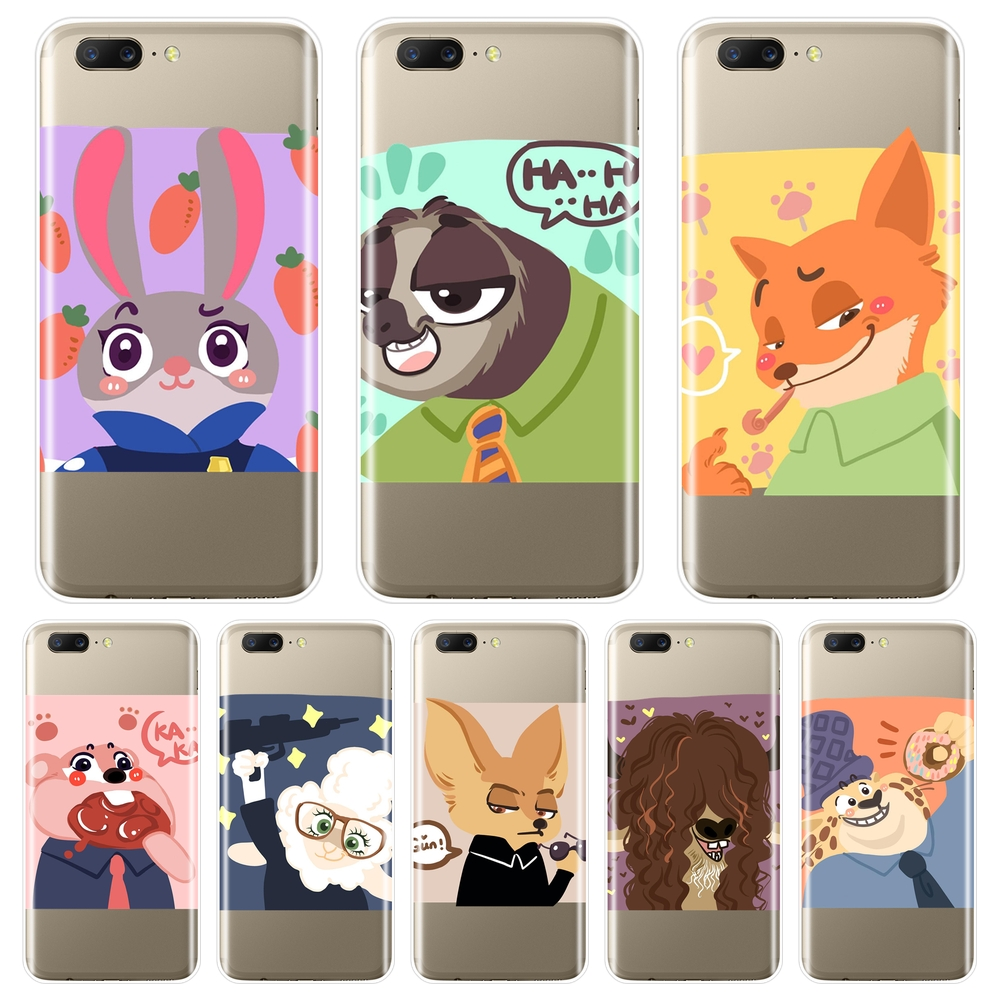 Silicone Phone <font><b>Case</b></font> For OnePlus 7 7 Pro 6 6T 5 5T 3 <font><b>3T</b></font> Rabbit <font><b>Anime</b></font> Fox Cute Back Cover For <font><b>One</b></font> <font><b>Plus</b></font> 3 <font><b>3T</b></font> 5 5T 6 6T 7 7 Pro image