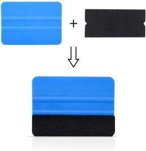 Image 4 - EHDIS 20/50/100pcs 펠트 직물 천을 10cm 스퀴지 탄소 섬유 비닐 자동차 포장 없음 스크래치 스크레이퍼 창 색조 포장 도구