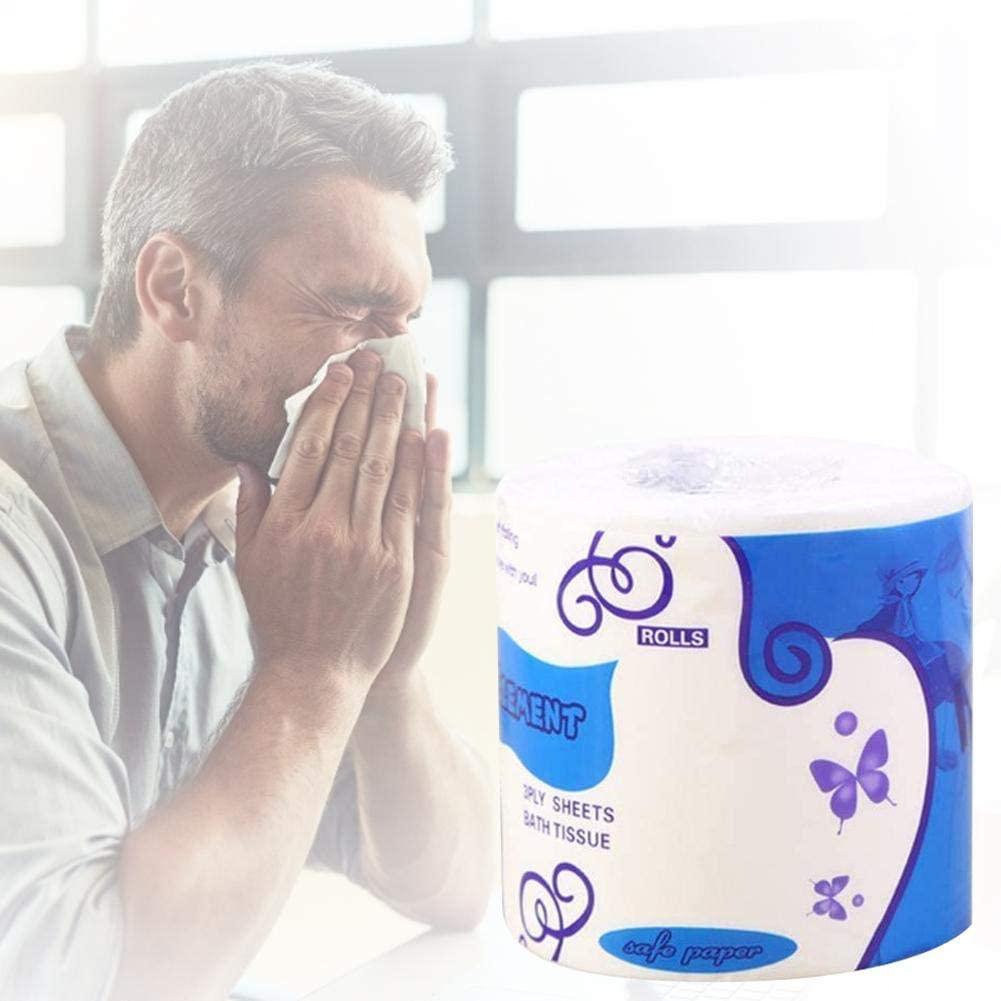 1 Rolls Silky Smooth Soft Toilet Tissue Professional Series Premium 3Ply Toilet Paper Bathroom Kitchen Toilet Tissue Paper