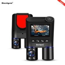 цена на Blueskysea Car WiFi DVR Dash Cam Dual Lens Car Mini Camera B2W HD 1080P Front & Rear Views Dash Camera for Uber Lyft Taxi Bus