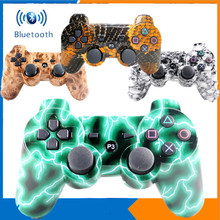Game handle-wireless Bluetooth joystick game handle, skeleton design, suitable for Playstation 3 PS3 controller TW-417 betop btp 2585 asura lo ne bluetooth game handle