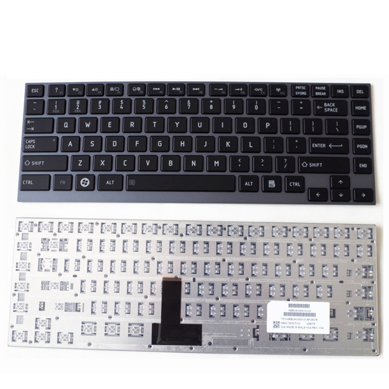 US English Keyboard For Toshiba Satellite U800W U845 U900 U920 U920T U925 U940 R830 Z935 U835 Z835 R835 R700 U800 KB