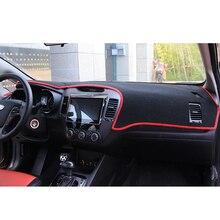 цена на Lsrtw2017 Polyester Car Dashboard Rear Window Sun Shade Mat for Kia K3 Kia Cerato Interior forte Accessories