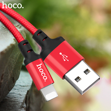HOCO Best USB Cable Charging for iPhone 8 7 6 5 plus USB Cable Fast Charger Data Cable For iPhone 11 Pro X XS Max XR iPad Cables