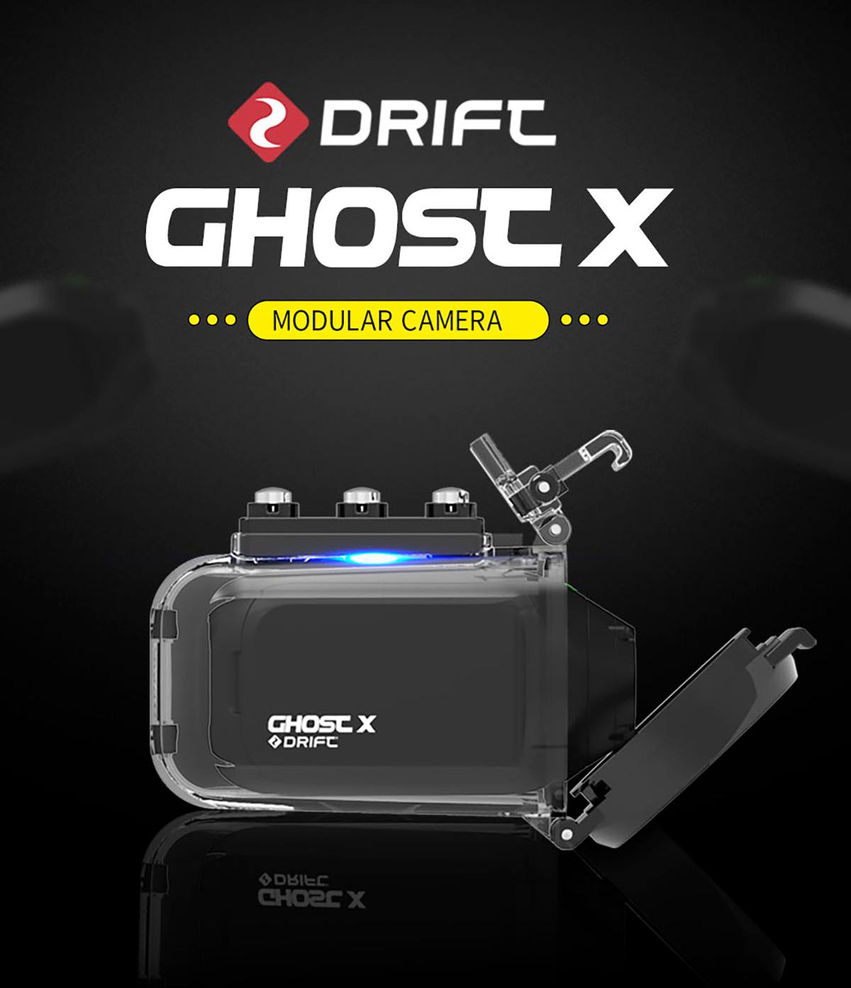 Cámara Cam fantasma X Plus MC 1080P 1
