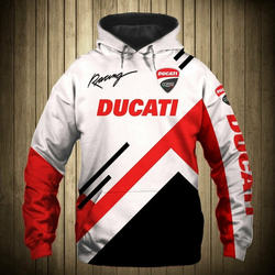 Ducati/Motorcycle/Monster/Dostrada/Diamond/Men's Hoody 3D Sports Sweatshirt