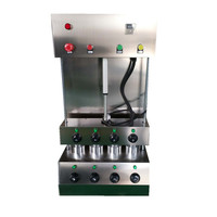 Trade assurance Commercial 4 kono pizza cone making machine electric italy cone pizza maker forming machine