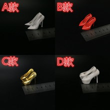 цена на 1/6 high-heeled shoes female soldiers female dolls heightening shoes multiple colors specifications in stock