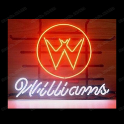 Williams Bat Neon Zeichen Nach Handcrafted Bier Bar Shop Shop Motel Dekoration Display Neon Zeichen 17X 14