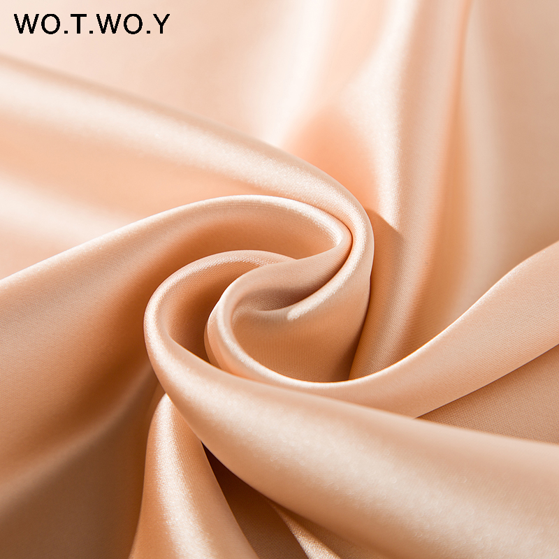Hb1c2c95224754b1bb67de6287a3c135fb - WOTWOY Sexy V-neck Sleeveless Dresses Women Spaghetti Strap Mid-Calf Sheath Party Dresses Femme Clothes Women Summer New