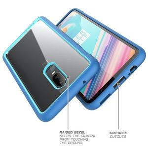 Image 3 - Telefonu kılıfı için OnePlus 6 SUPCASE UB tarzı serisi anti vurmak Premium hibrid koruyucu TPU tampon + PC kapak bir artı 6 kılıf için