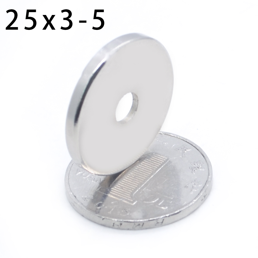 Round, Pieces, Ring, Countersunk, Super, Magnets