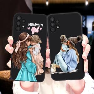 Image 5 - สำหรับ Samsung A32กรณี Super Mom ทารกหญิงสำหรับ Samsung Galaxy A32 4G Funda SamsungA32 A 32 A325F กันชน