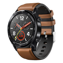 Fashion Strap For Watch Calf Leather 22mm Men Huawei GT Bands gear s3