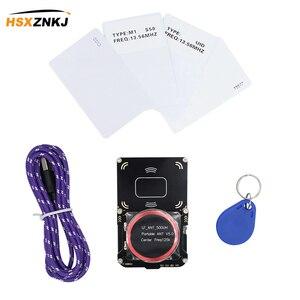 Image 2 - 2 usbポート512 1kのnfc rfidリーダライタrfid nfcカードコピー機クローン亀裂新Proxmark3開発スーツキット5.0 proxmark RDV4