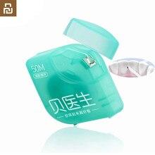 Escova de dentes portátil youpin médico, caixa com 50m/caixa para homens e famílias