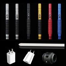 Yq Ziqing 104cm 11 Color Lightsaber Rgb Light Saber Force Fx Lighting Heavy Dueling Color Vocalization Foc Lock Up Metal Handle