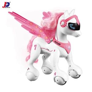 Image 2 - JXDA009 RC Unicorn Riley Smart Horse Robot Remote Control Animals unicornio Merry Christmas Educational licorne Kids Toys