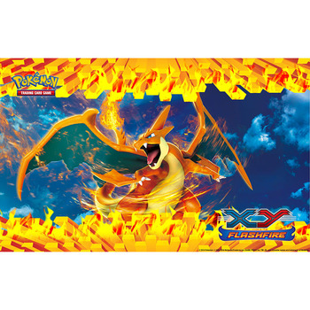 Takara Tomy Pokemon Playmat Board Game Mat Charizard TCG Acessories Table Card Gaming Toys for Children many playmat choices 565 mtg board game mat table mat for magical mouse mat the gathering