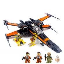 Starwars 05128 05127 10900 X Wing Звездные войны истребитель, строительные блоки, игрушки для детей Совместимость legoinglys звезда игрушки Звездных Войн