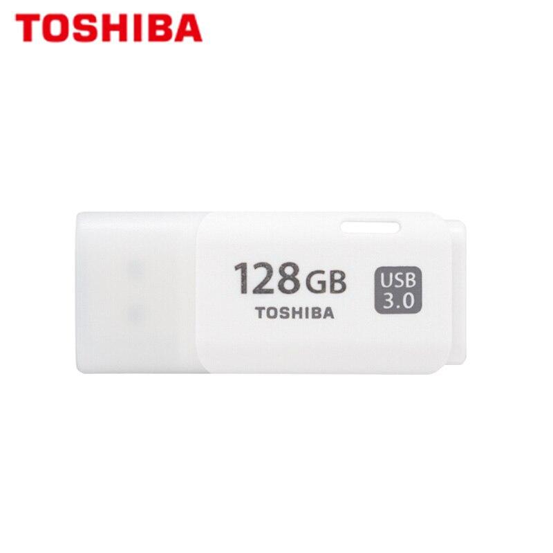 TOSHIBA USB Flash Drive 64GB Qualidade 64GB Real Capacidade Flash Drive Memory Stick Pen Drive USB 3.0 Originais