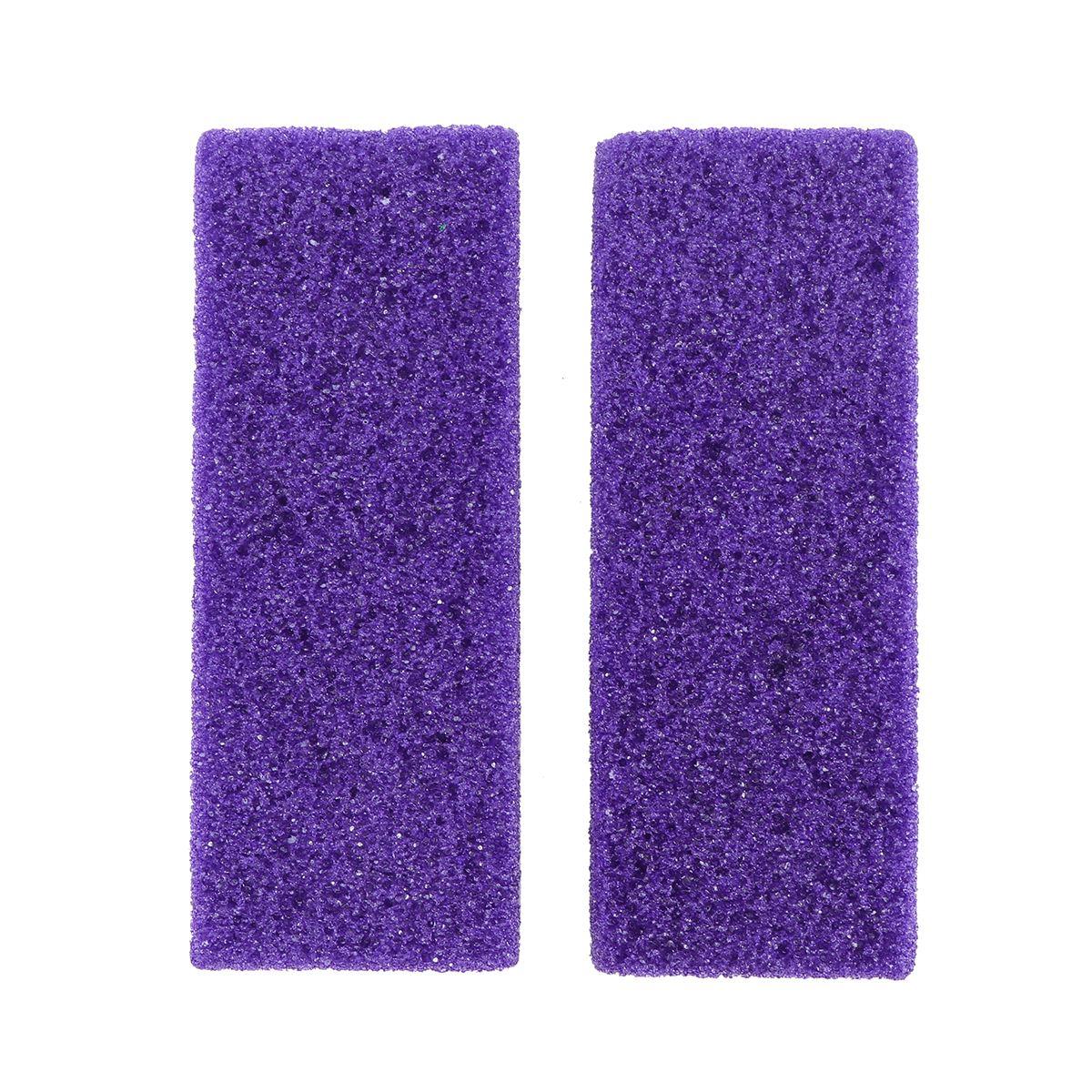 2pcs Foot Care Exfoliator Pedicure Tool Foot Pumice Stone Block Callus Remover Scrubber Dead Hard Skin Remover Cleaner A35