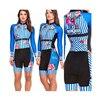 Das mulheres longas calças Ciclismo Skinsuit Maillot Ropa ciclismo Triathlon curto de Manga comprida Casal Bicicleta Jersey define Macacão 24