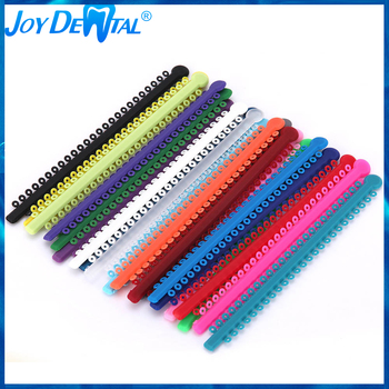 1pack=1000PCS/20Sticks Dental Orthodontic Elastic Ligature Ties Bands for Brackets Colourful For You Choose 1pack 40pcs dental ligature ties orthodontics elastic multi color rubber bands for health teeth tools