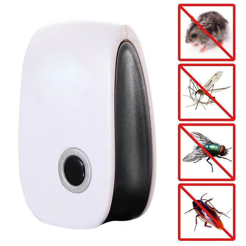 Pest Repeller Mouse Reject Mosquito-Insect-Control Ultrasonic Rat for Multi-Functional